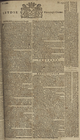 Leydse Courant 1760-10-29