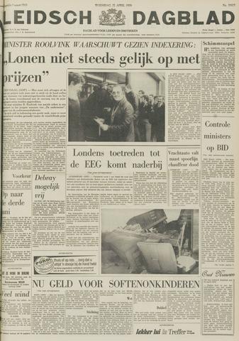 Leidsch Dagblad 1970-04-22