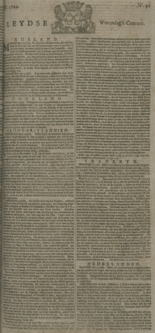 Leydse Courant 1744-07-29