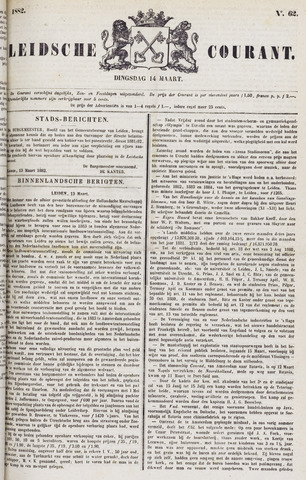 Leydse Courant 1882-03-14