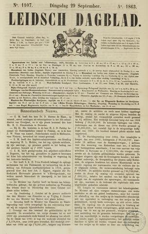 Leidsch Dagblad 1863-09-29