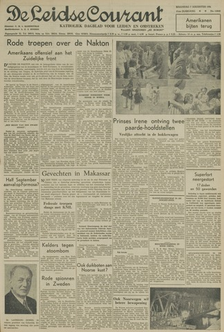 Leidse Courant 1950-08-07