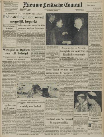 Nieuwe Leidsche Courant 1957-05-07