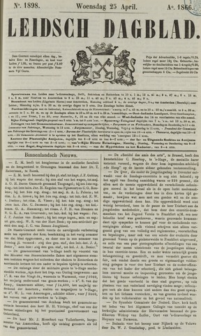 Leidsch Dagblad 1866-04-25