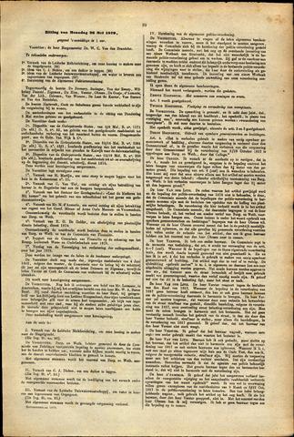 Handelingen van de Raad 1879-05-26