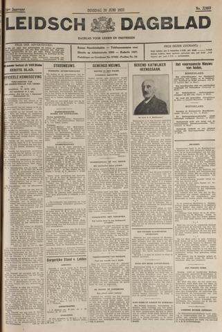 Leidsch Dagblad 1933-06-20