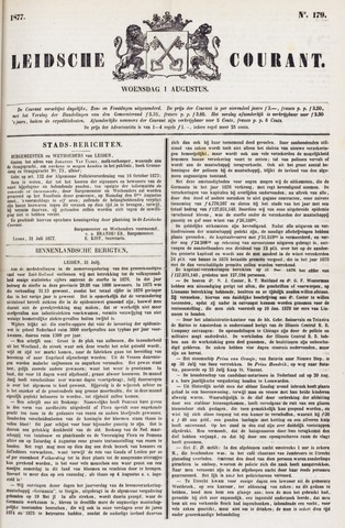 Leydse Courant 1877-08-01