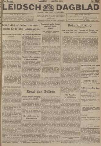 Leidsch Dagblad 1940-08-01