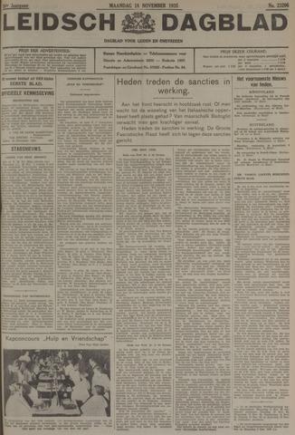 Leidsch Dagblad 1935-11-18