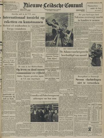 Nieuwe Leidsche Courant 1957-01-15