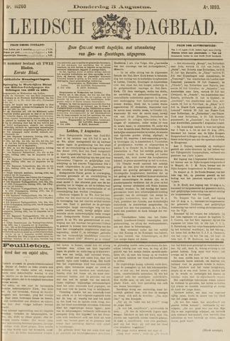 Leidsch Dagblad 1893-08-03