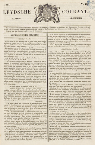 Leydse Courant 1844-12-09