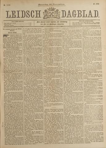 Leidsch Dagblad 1899-11-18