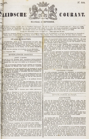 Leydse Courant 1871-09-11