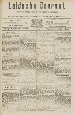 Leydse Courant 1887-11-08