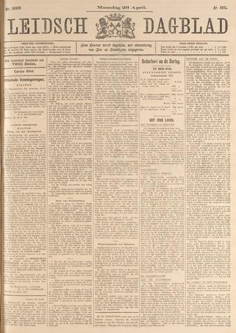 Leidsch Dagblad 1915-04-26