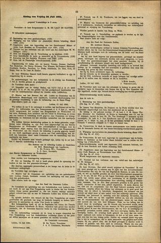Handelingen van de Raad 1881-07-22