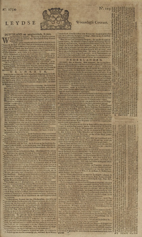 Leydse Courant 1754-08-28