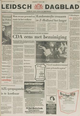Leidsch Dagblad 1980-08-29