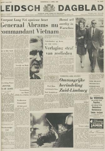 Leidsch Dagblad 1968-04-11