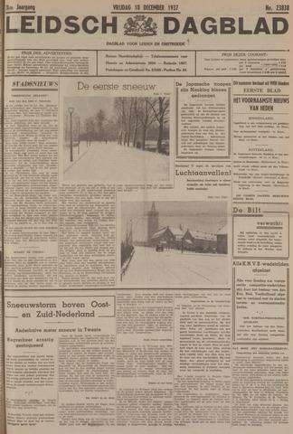 Leidsch Dagblad 1937-12-10