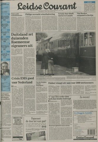 Leidse Courant 1992-09-18