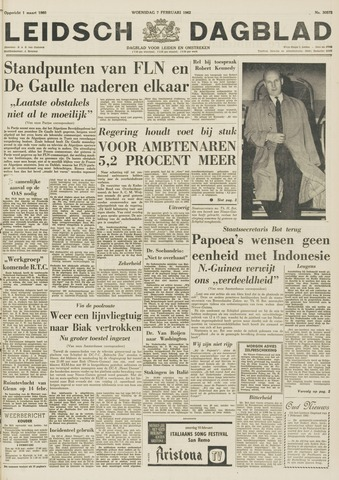 Leidsch Dagblad 1962-02-07