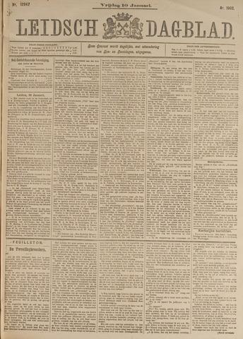 Leidsch Dagblad 1902-01-10