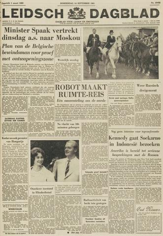 Leidsch Dagblad 1961-09-14