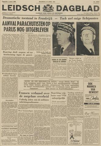 Leidsch Dagblad 1961-04-24