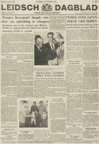 Leidsch Dagblad 1959-09-28