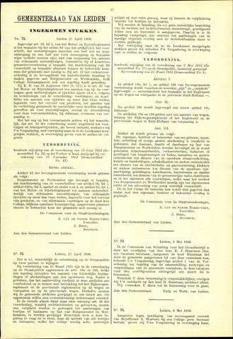 Handelingen van de Raad 1936-04-27