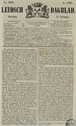 Leidsch Dagblad 1867-10-15