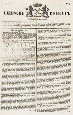 Leydse Courant 1871-01-11