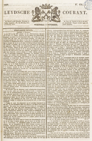 Leydse Courant 1860-11-07