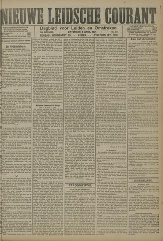 Nieuwe Leidsche Courant 1921-04-09