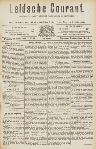 Leydse Courant 1889-03-27