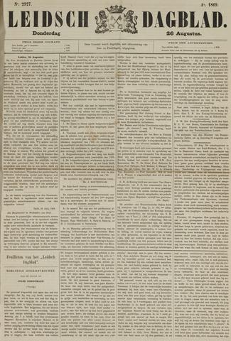 Leidsch Dagblad 1869-08-26