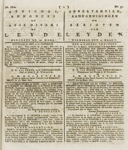 Leydse Courant 1812-03-25