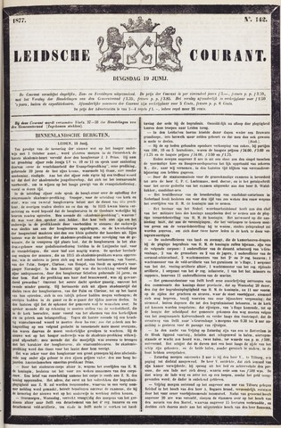 Leydse Courant 1877-06-19