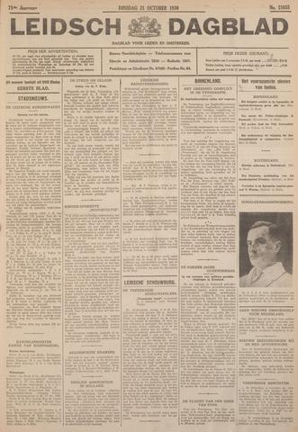 Leidsch Dagblad 1930-10-21