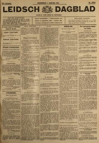 Leidsch Dagblad 1932-01-07