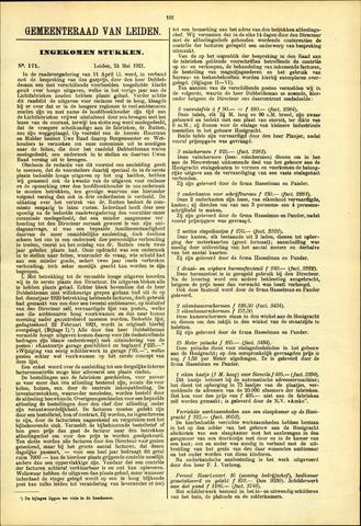 Handelingen van de Raad 1921-05-24