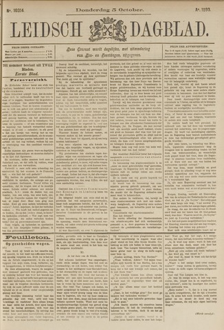 Leidsch Dagblad 1893-10-05