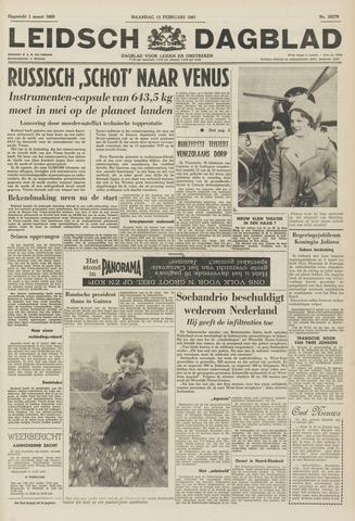 Leidsch Dagblad 1961-02-13