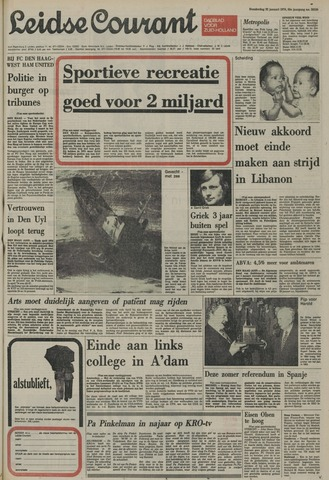 Leidse Courant 1976-01-22
