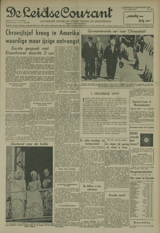 Leidse Courant 1959-09-16