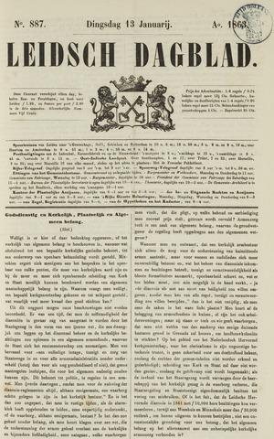 Leidsch Dagblad 1863-01-13