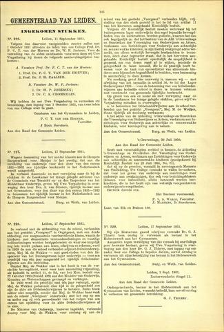 Handelingen van de Raad 1931-09-11