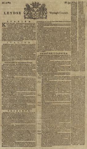 Leydse Courant 1763-07-29